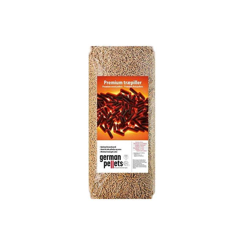 Granulés de bois German Pellets - Palette de 66 sacs de 15 kg