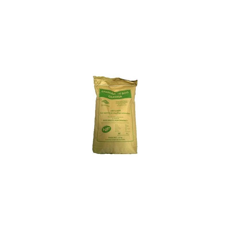 Pellets GRASASA - Palette de 65 sacs de 15 kg