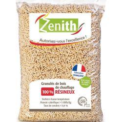 Pellets de bois Zenith - Palette de 72 sacs de 15 kg