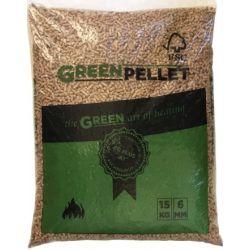 Granulés Green Pellet - Palette de 70 sacs de 15 kg