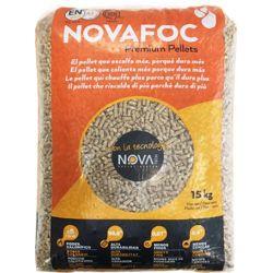 Pellets de bois Novafoc - Palette de 70 sacs de 15 kg