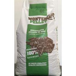 Pellets de bois Wonterpellet - Palette de 65 sacs de 15 kg