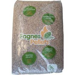 Pellet Fagnes Pellets - Palette de 70 sacs de 15 kg