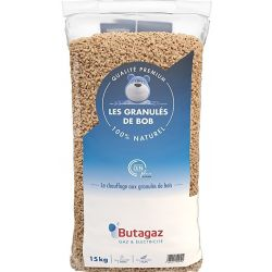 Pellets Butagaz - Palette de 66 sacs de 15 kg