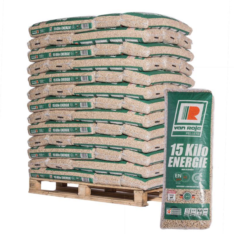Pellet Van Roje - Palette de 65 sacs de 15 kg