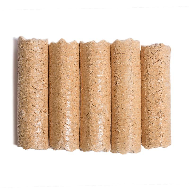 5 bûches de bois densifié