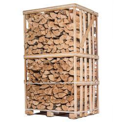 Bois de chauffage - 33 cm - Ultra sec - Hêtre - Palette 2 m3 - 3 stères