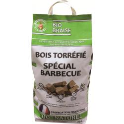 Bois torréfié spécial barbecue