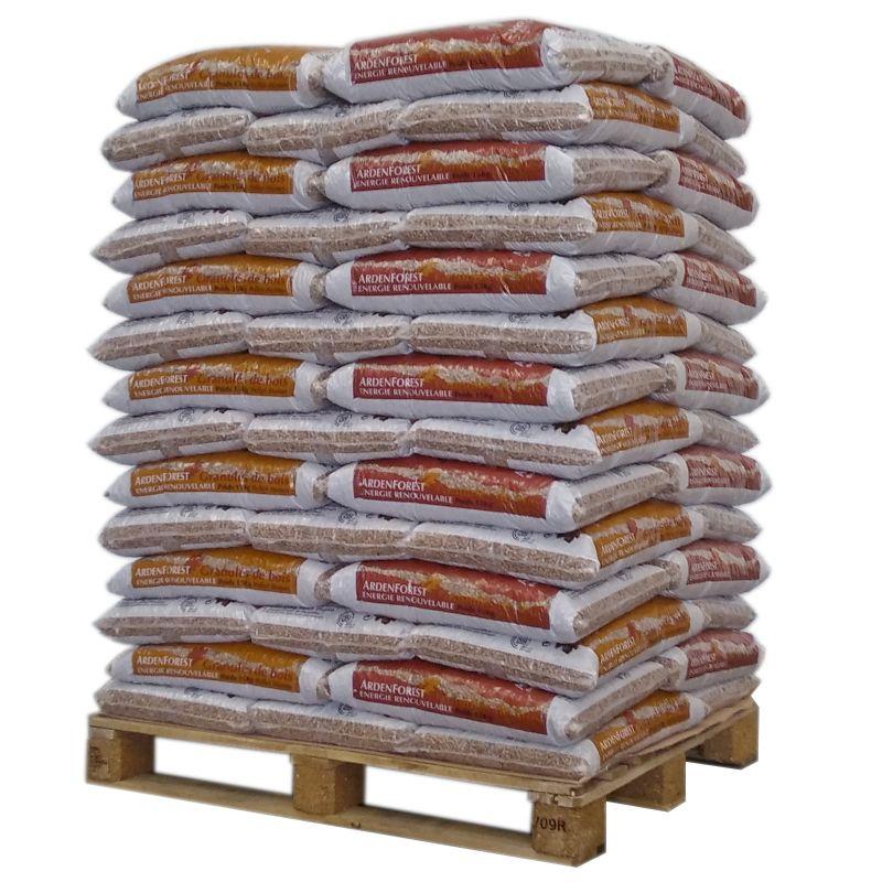 Pellet Ardenforest - Palette de 72 sacs de 15 kg
