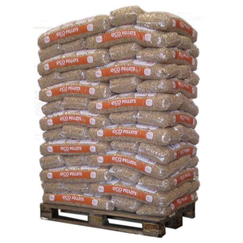 Pellet EcoPower - Palette de 65 sacs de 15 kg
