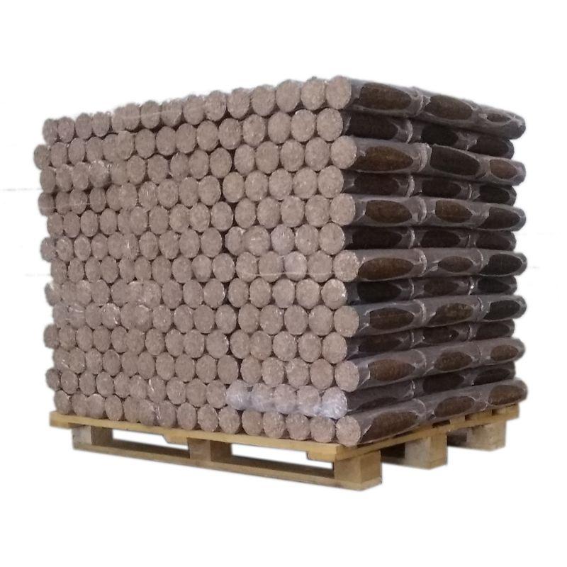 Bois densifié - Feuillus - Palette de 1 tonne