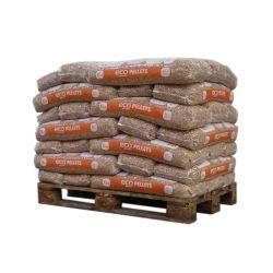 Pellet EcoPower - 1/2 Palette de 35 sacs de 15 kg