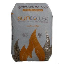 Pellet SunPower - Sac de 15 kg