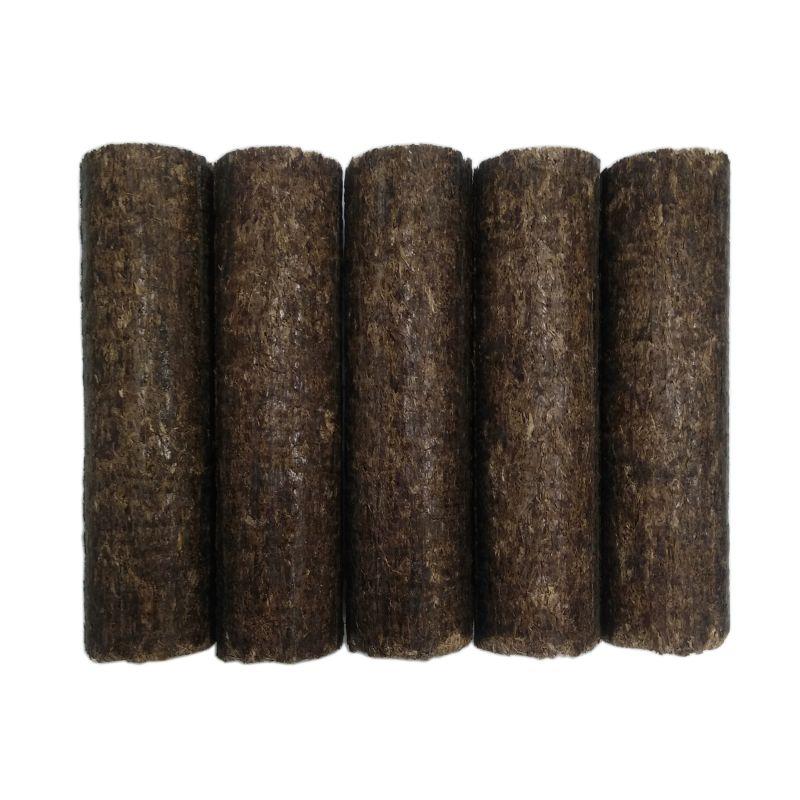 5 bûches de bois densifié - Feuillus - 8.55 kg