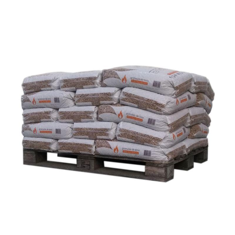Pellet SunPower - 1/2 palette de 35 sacs de 15 kg