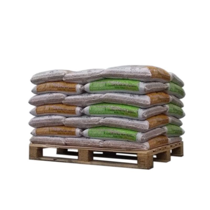 Pellet Starforest - 1/2 palette de 35 sacs de 15 kg