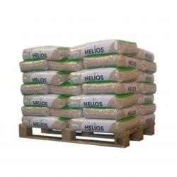 Pellet Helios - 1/2 palette de 35 sacs de 15 kg