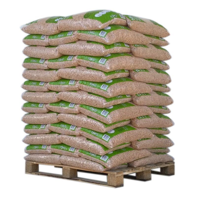 Pellet Din Pellets - Palette de 65 sacs de 15 kg