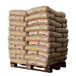 Pellet Bio Energie - Palette de 66 sacs de 15 kg