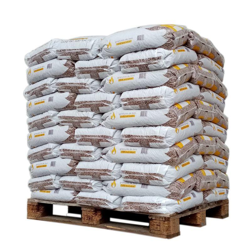 Pellet SunFire - Palette de 70 sacs de 15 kg