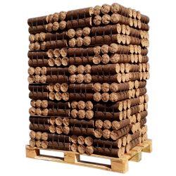 Bois densifié - Feuillus + résineux - Palette de 960 kg