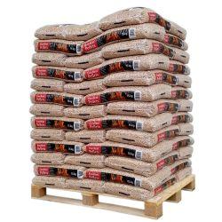 Granulés de bois Excellent Pellets - Palette de 65 sacs de 15 kg