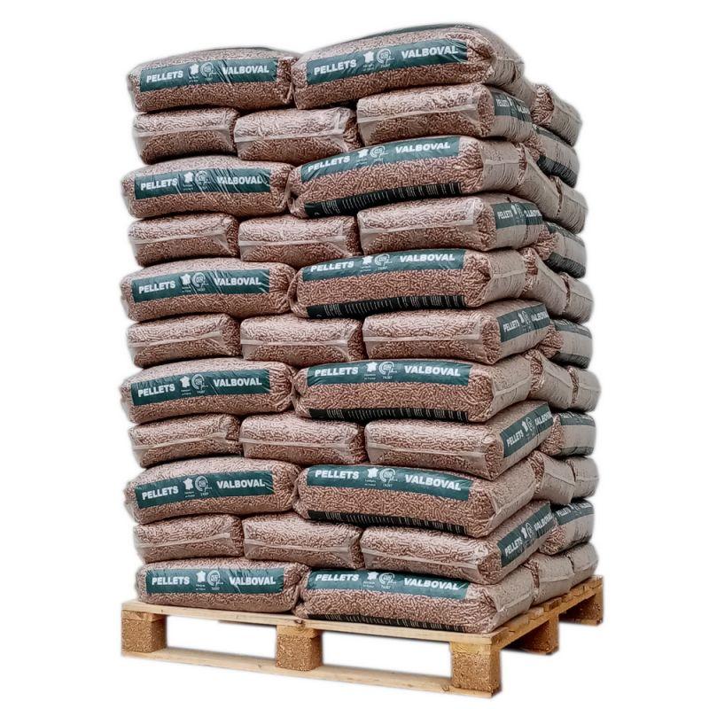 Pellet Valboval - Palette de 65 sacs de 15 kg