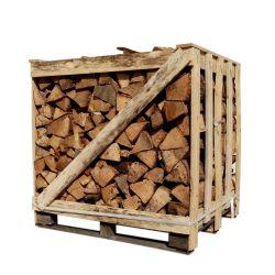 Bois de chauffage - 30 cm - Sec - Mélange de bois durs - Palette 1 m3 - 1.5 stères