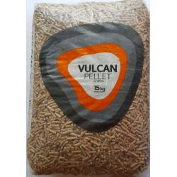 Granulés de bois Vulcan - Palette de 70 sacs de 15 kg