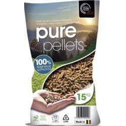 Pellets de bois Pure Pellets - Palette de 65 sacs de 15 kg