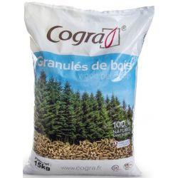 Granulés Cogra - Palette de 70 sacs de 15 kg
