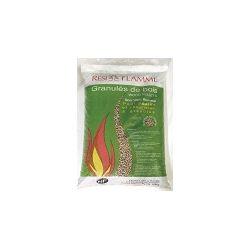 Granulés de bois Résiflamme - Palette de 70 sacs de 15 kg