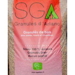 Pellet SGA Granulés d'Arlanc - Palette de 70 sacs de 15 kg