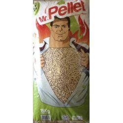 Granulés de bois Mr Pellet - Palette de 66 sacs de 15 kg
