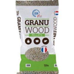 Pellet Granuwood - Palette de 65 sacs de 15 kg