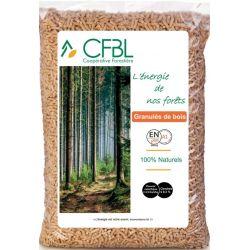 Pellet CFBL - Palette de 65 sacs de 15 kg