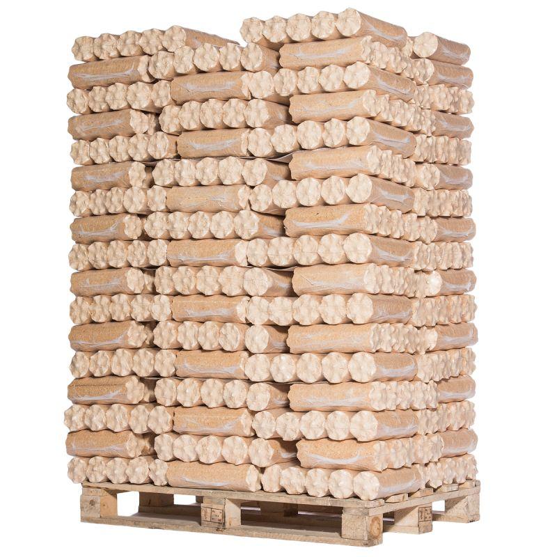 Palette de bois densifié